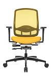 Bürostuhl AluMedic Limited gelb